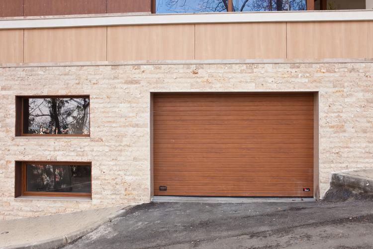 Residential Sectional Garage Door : Photo gallery sectional garage doors mca