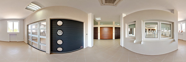 Industrial And Residential Sectional Garage Doors Virtual Tour Outside View